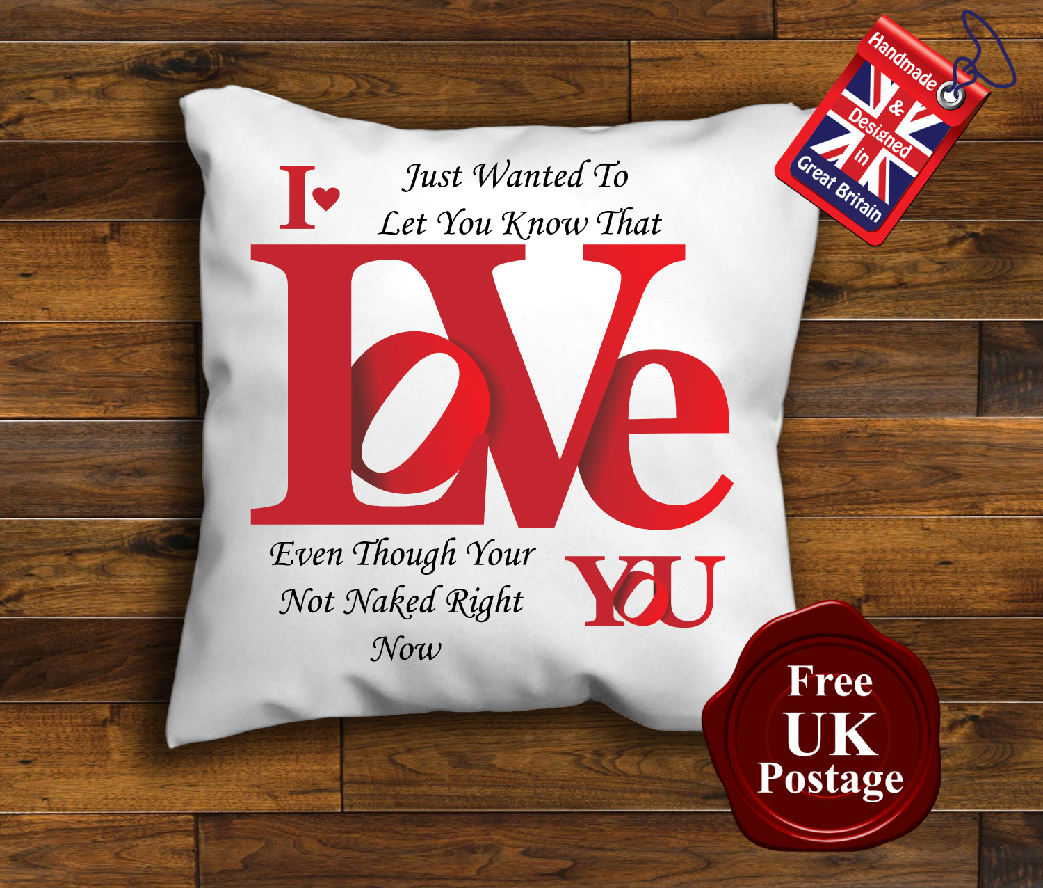 Valentines Day Cushion Cover Valentines Day Cushion I Love You