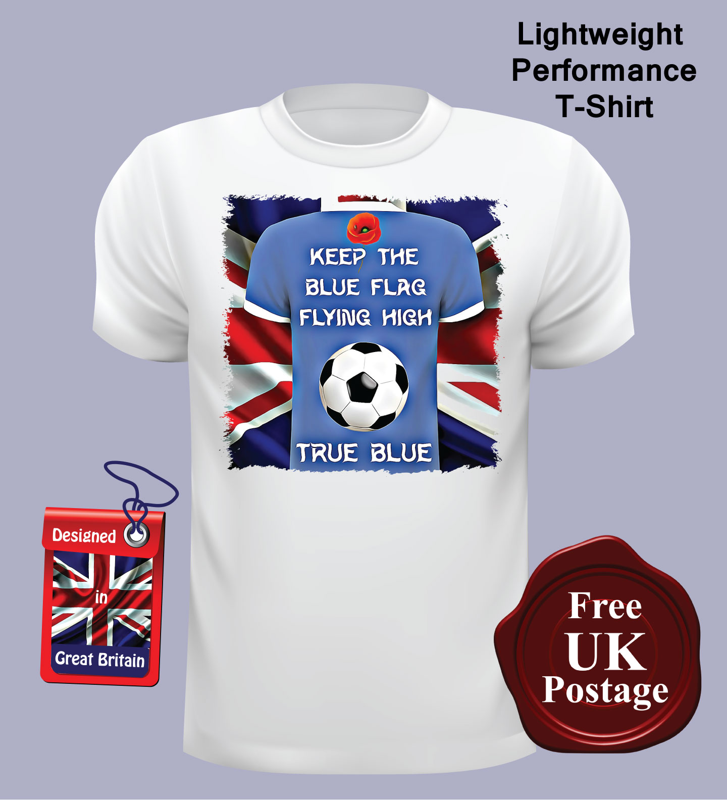Bang Tidy Clothing Kids Official Chelsea F.C Personalised in Gift Box Football Shirt