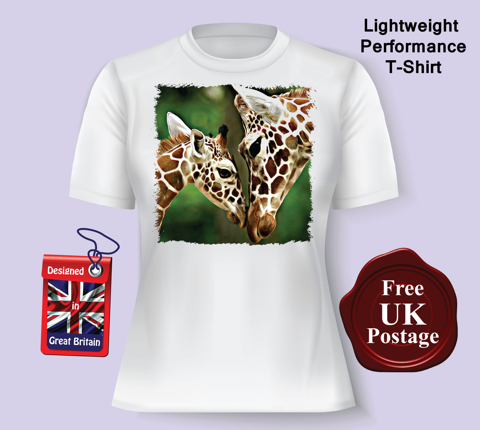 0992dcc8 Women's T Shirt, Giraffe T Shirt, Ladies Giraffe T Shirt, Choice of ...